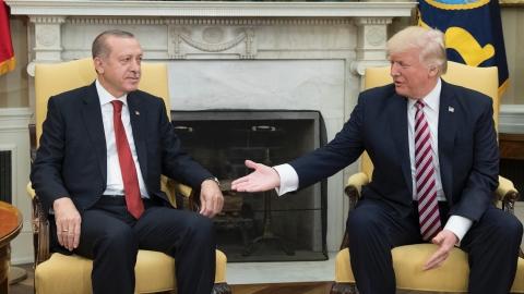 特朗普为护库族武装警告土耳其 土方:分清敌我