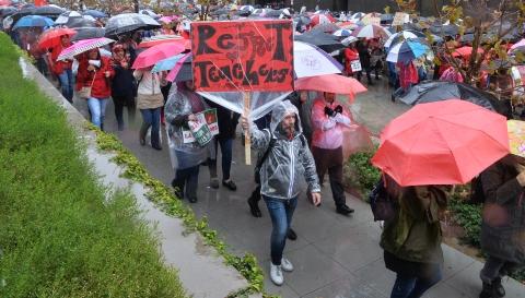 洛杉矶3万教师罢工 逾60万学生受影响