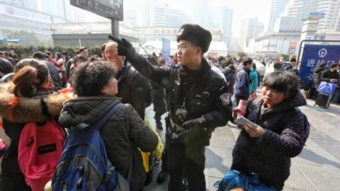 2019春运下周来临 上海铁警全力迎战出行客流高峰