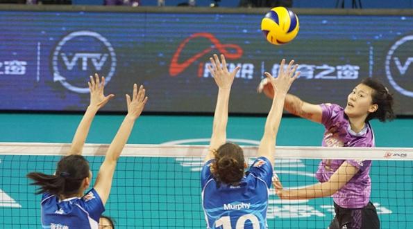 女排联赛半决赛对阵图出炉:天津对江苏,上海战北京