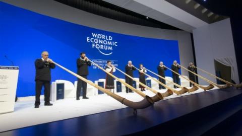 """达沃斯论坛开幕 聚焦全球化4.0 """"千禧一代""""联席主席为年轻人代言"""