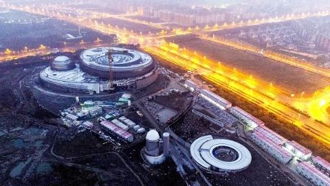 上海天文馆建设取得新进展 预计今年下半年建筑安装工程竣工