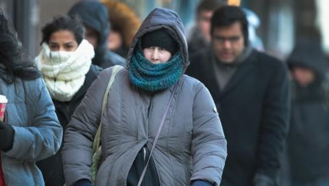 破纪录!芝加哥迎来25年来最低气温
