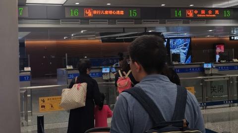 国庆假期首日虹桥机场出境客流量较平时增3成 外籍旅客亦享超长假期
