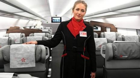 旅客请注意 !俄罗斯游隼号列车有了会说汉语的乘务员