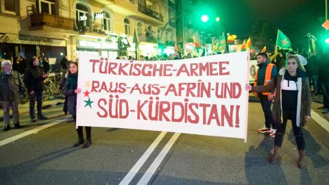 德国土耳其人与库尔德人冲突致伤5人