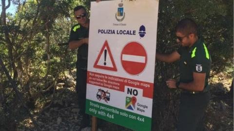 意大利山村恳求游客别信谷歌地图导航!