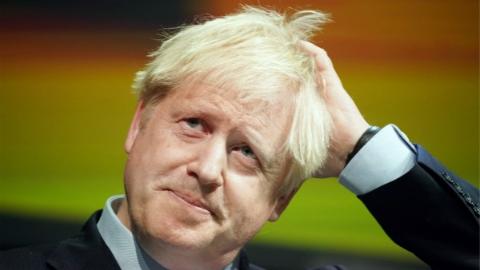 """终于,英国首相鲍里斯·约翰逊说与欧盟达成新的""""脱欧""""协议了"""