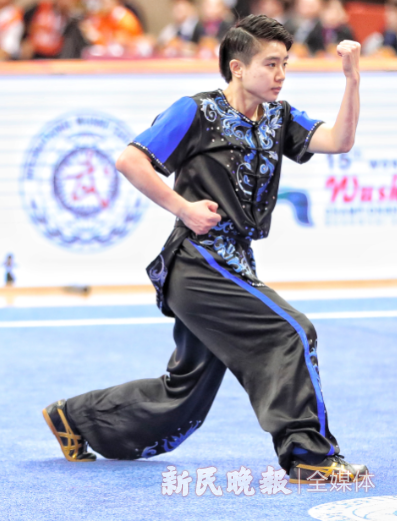 中国女将汤露摘得2019年武术世锦赛首金