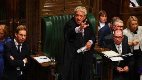 """英下院议长拒绝再度表决""""脱欧""""协议"""