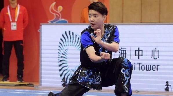中国代表队亮相武术世锦赛 汤露摘大赛首金