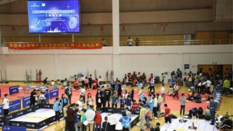 """3300多名""""AI少年""""角逐全国青少年电子信息智能创新大赛(上海地区赛)"""