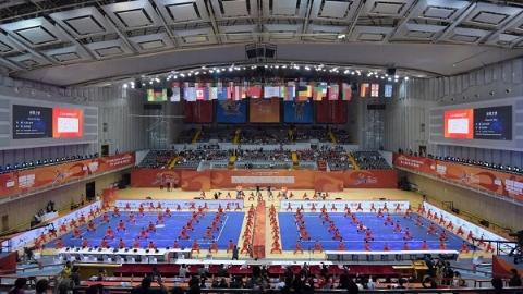 第十五届世界武术锦标赛闭幕 武林高手献上完美演出