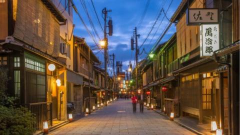 日本京都祗园私家道路禁拍照 违反者将面临1万日元罚款