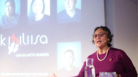 格陵兰政府举办打击性虐待演讲会