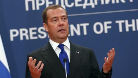 俄罗斯总理提议与东盟举行海上联合军演