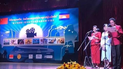 """""""露天电影巡映""""为柬埔寨老百姓打开了解中国的""""窗口"""""""