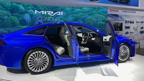 进博会上未来汽车动力大PK,氢燃料还是纯电动?