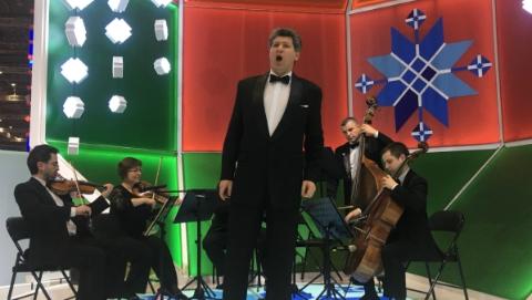 """格罗莫夫:白俄罗斯""""人民演员""""为进博会放歌"""