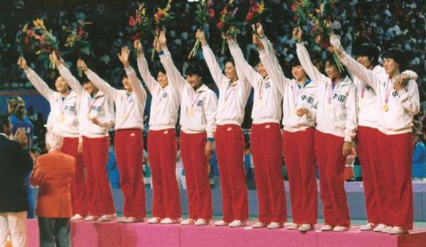 """1984年8月7日,洛杉矶奥运会上,中国女排夺冠,实现""""三连冠""""_副本.jpg"""