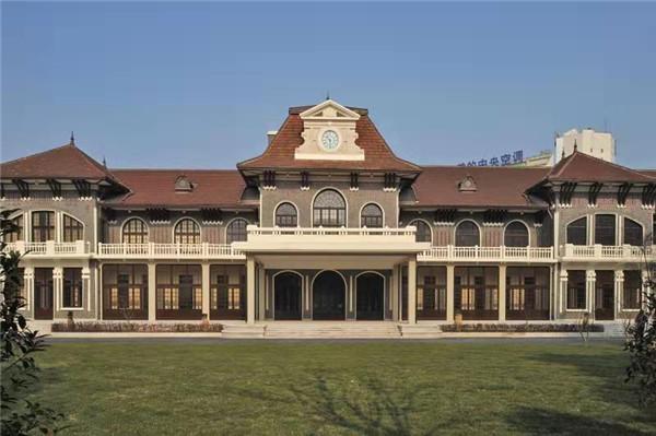 上海科学会堂的老房子