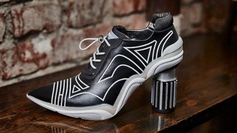 又A又飒的运动高跟鞋进博会首发 穿上它跑遍7大展区也不怕