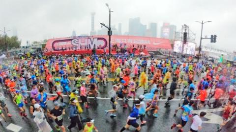 请注意!2019上海国际马拉松赛周日举行,这些道路将交通管制
