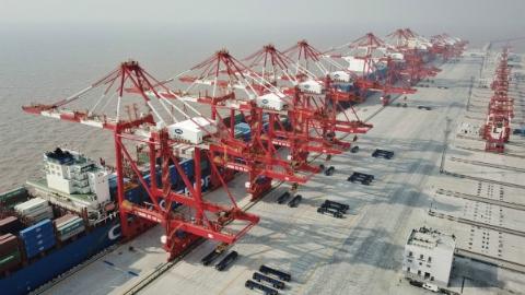 最新数据!今年前10个月上海口岸出口实现增长