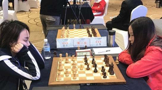 智运会国象女子个人赛 章晓雯为上海争得银牌