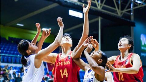 奥运资格赛78分大胜菲律宾 中国女篮强势晋级第三阶段