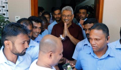 拉贾帕克萨赢得斯里兰卡总统选举