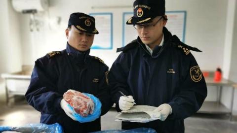 猪肉选择又多一家,全国首批意大利输华冷冻猪肉在沪通关