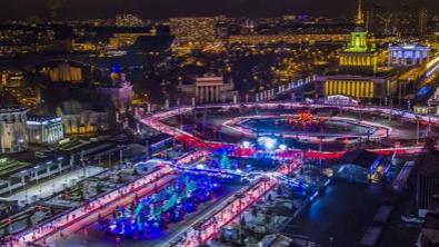莫斯科将开放欧洲最大溜冰场 同时可容纳4500人