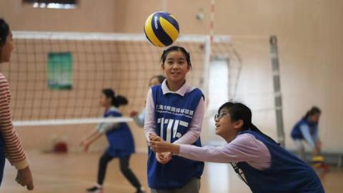 精英训练营选拔轰轰烈烈 上海校园排球联盟创新举措促有成效