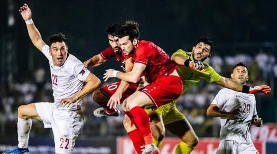世预赛40强赛:叙利亚1比0小胜菲律宾 领先国足8分