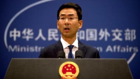外交部发言人驳斥美国务卿言论 敦促美方停止插手香港事务