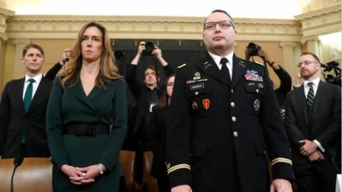 弹劾调查第三次公开听证,白宫官员:被特朗普电话惊到了