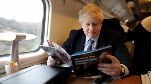 英保守党发布竞选纲领 承诺实现脱欧增加公共开支