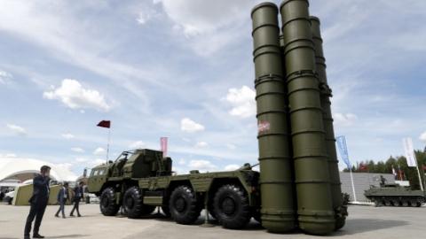 土耳其开始测试俄制S-400型防空导弹系统雷达