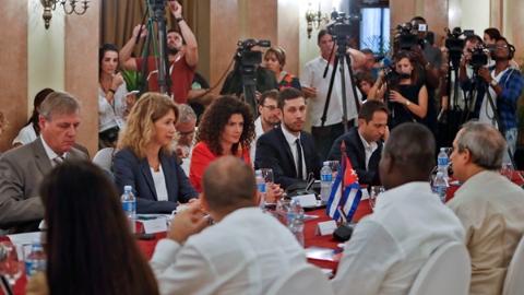 古巴与欧盟再次对话 共同谴责美长期制裁