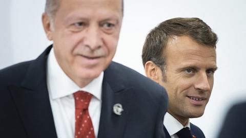 """马克龙被讽""""脑死亡"""" 法外交部召见土耳其大使"""