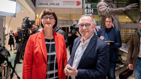 德社民党选出双主席或退出执政联盟