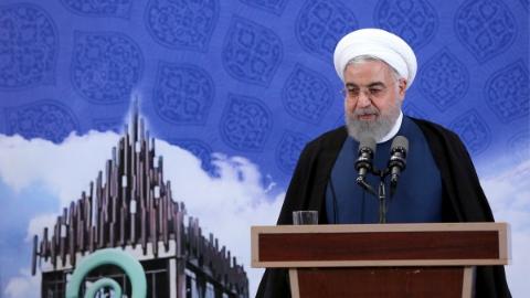 时隔19年 伊朗总统鲁哈尼有意访日
