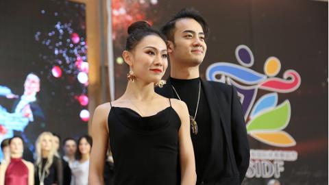 世界顶尖舞者在沪上演红毯秀 WDSF大奖赛总决赛明天在卢湾体育中心揭幕