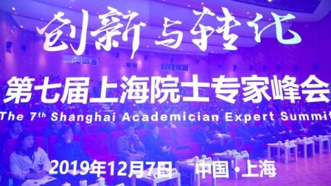 """打造集聚全球创新资源的""""强磁场""""  第七届上海院士专家峰会召开"""