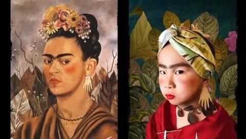 """世界名画""""萌化了"""" 杨浦区二联小学的欢乐美育"""