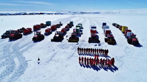 """我国南极科考内陆队出征 智利失事""""南极航班""""上无中国队员"""