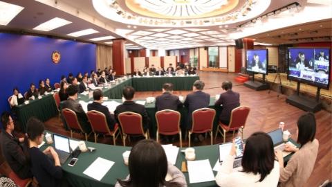 上海市政协召开首次远程协商会 以视频连线方式开展协商