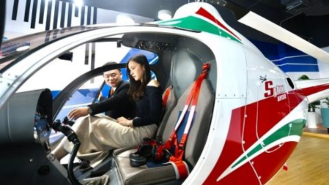 """买飞机,去自贸区!进博会""""尖货""""阿尔卑斯飞机首个中国展厅揭幕"""