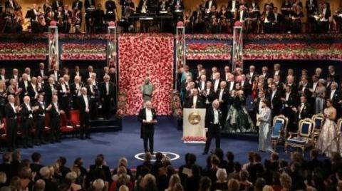 2019年诺贝尔颁奖仪式在斯德哥尔摩举行